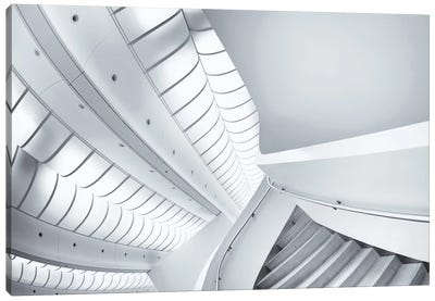 Stairs To Enter Canvas Print #OXM2314