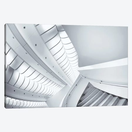 Stairs To Enter Canvas Print #OXM2314} by Jeroen van de Wiel Canvas Art Print