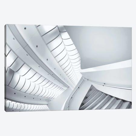Stairs To Enter Canvas Print #OXM2314} by Jeroen van de Wiel Canvas Art Print