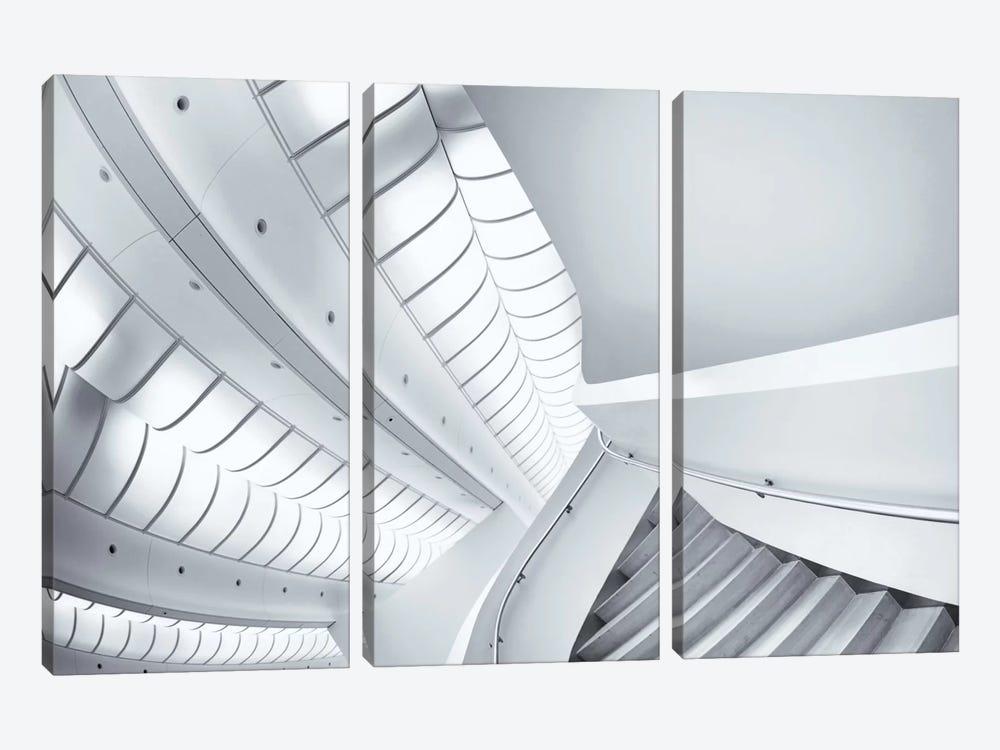 Stairs To Enter by Jeroen van de Wiel 3-piece Canvas Wall Art