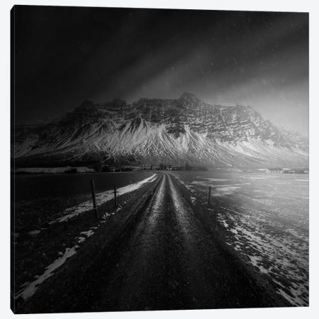 Iceland Road Canvas Print #OXM2322} by Juan Pablo de Miguel Canvas Art Print