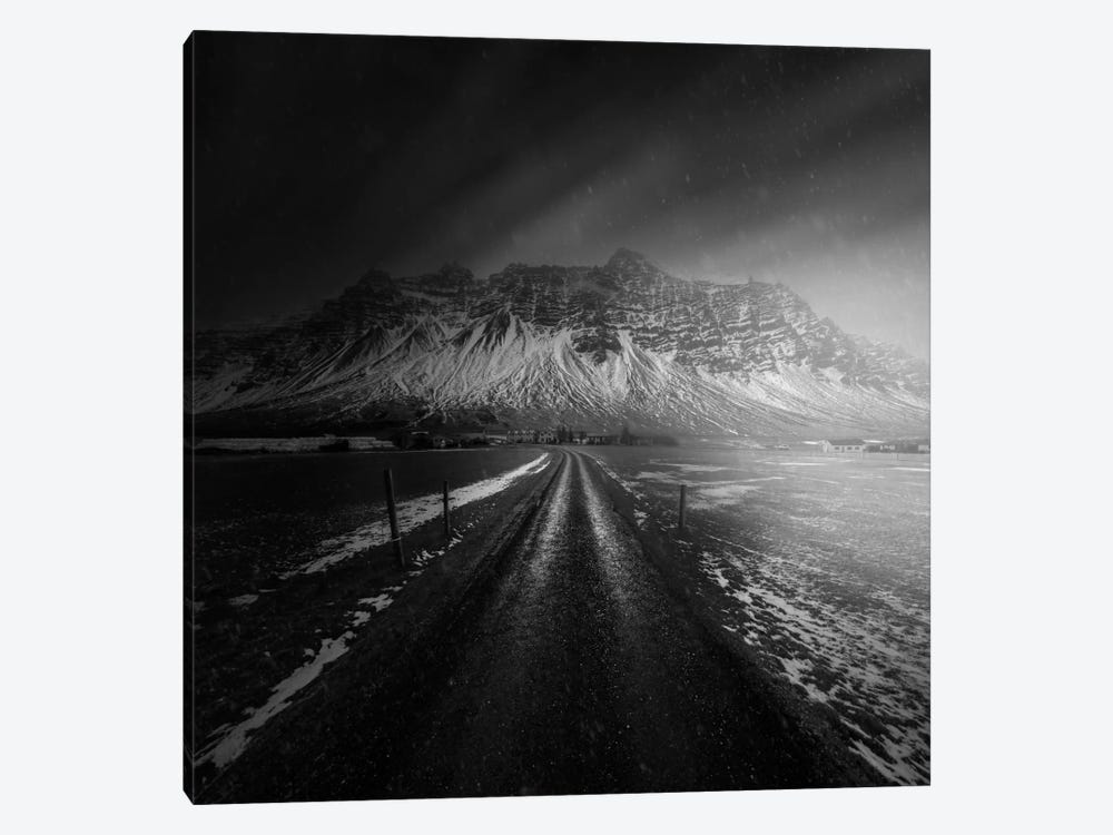 Iceland Road 1-piece Canvas Art Print