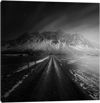 Iceland Road Canvas Art Print