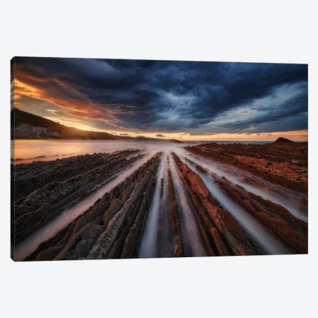 Zumaia Flysch VI Canvas Print #OXM2325} by Juan Pablo de Miguel Canvas Art