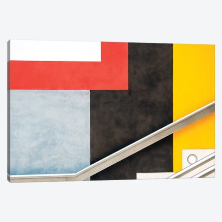 Colour Block Canvas Print #OXM2326} by Linda Wride Canvas Artwork