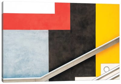Colour Block Canvas Art Print