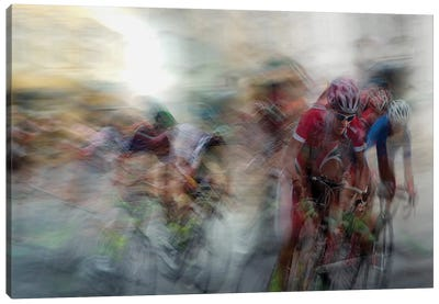 Race Canvas Art Print