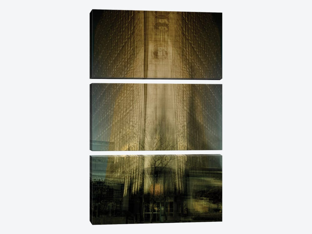 Tower Insatiable by Milan Malovrh 3-piece Canvas Art Print