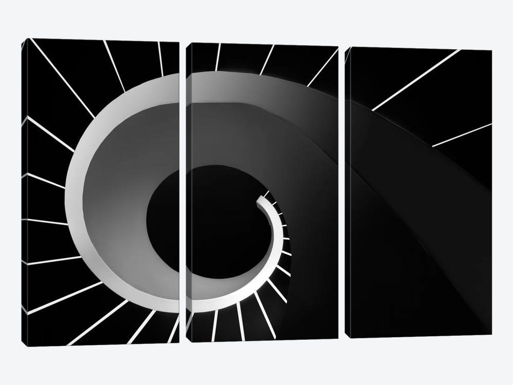 Escape The Void by Paulo Abrantes 3-piece Canvas Art Print