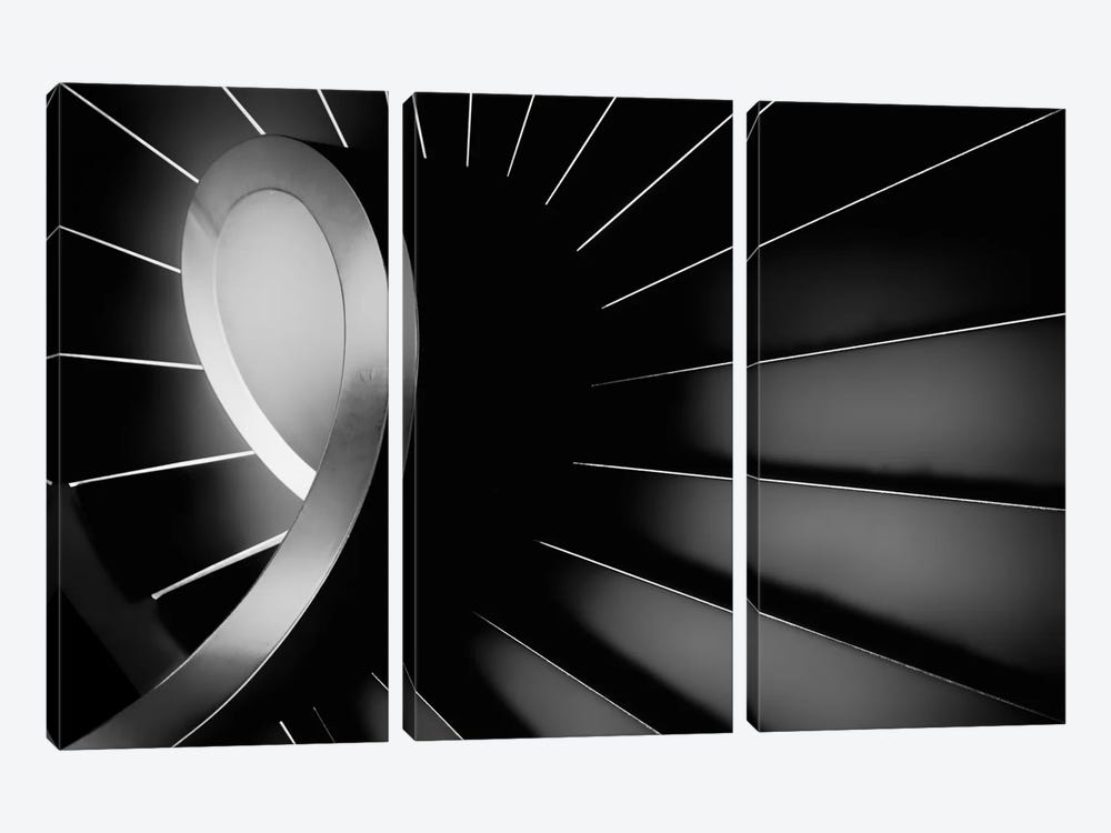 The Long Dark by Paulo Abrantes 3-piece Canvas Wall Art
