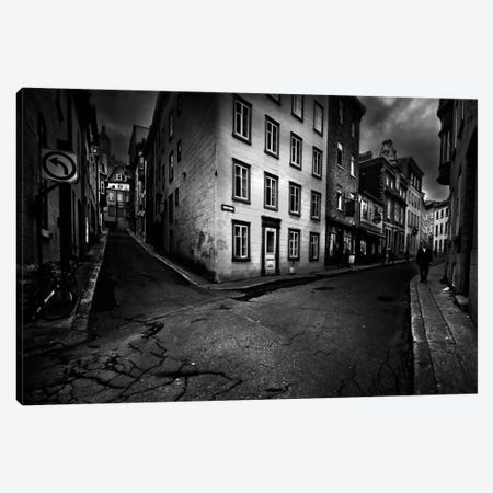 Carrefour Canvas Print #OXM2355} by David Senechal Photographie Art Print