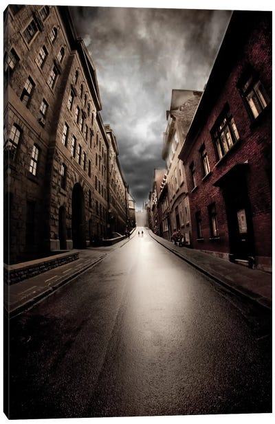 Dead End Canvas Art Print