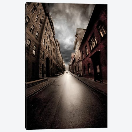 Dead End Canvas Print #OXM2356} by David Senechal Photographie Art Print