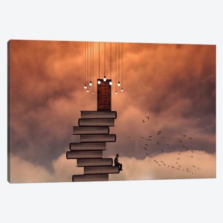 Escale Canvas Print #OXM2357} by David Senechal Photographie Art Print