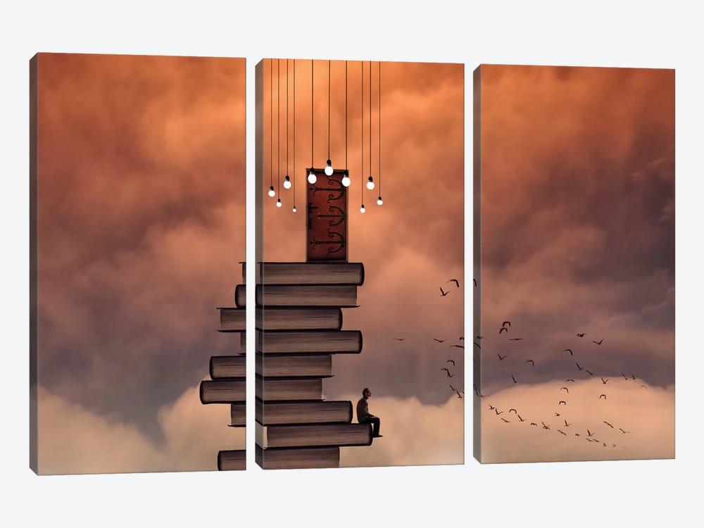 Escale by David Senechal Photographie 3-piece Canvas Art Print