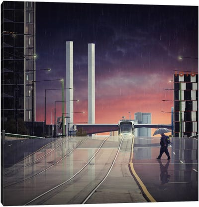 Beyond The Bolte Canvas Art Print