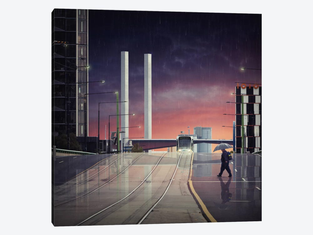 Beyond The Bolte by Adrian Donoghue 1-piece Canvas Print