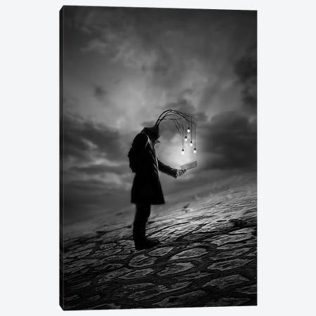 The Reader Canvas Print #OXM2370} by David Senechal Photographie Canvas Wall Art