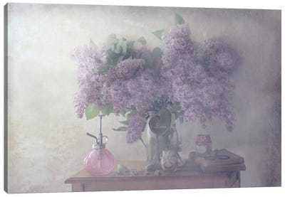 Sweet Lilacs Canvas Art Print