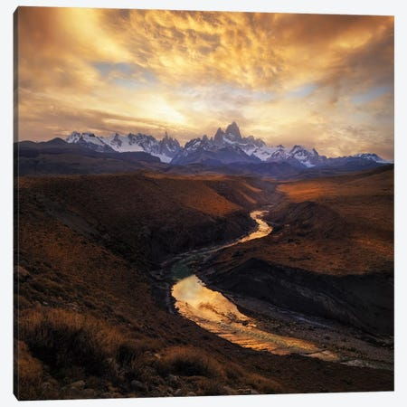 View From The Gorge Canvas Print #OXM2387} by Yan Zhang Canvas Artwork