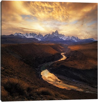 View From The Gorge Canvas Art Print