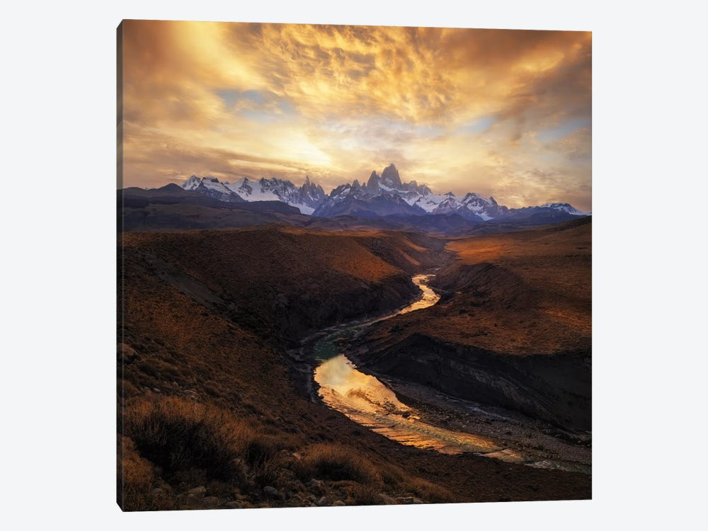 View From The Gorge by Yan Zhang 1-piece Canvas Wall Art
