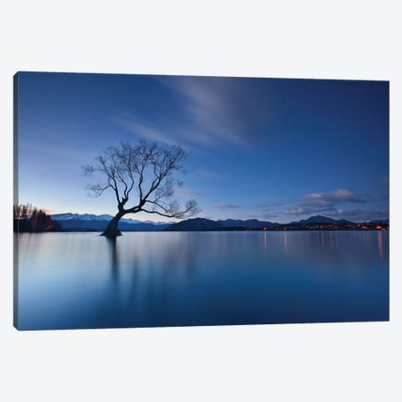 Wanaka Twilight Canvas Print #OXM2388} by Yan Zhang Art Print
