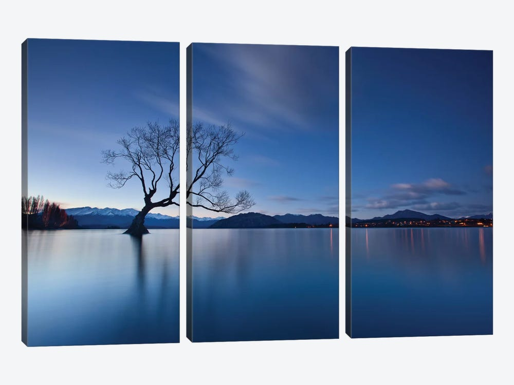 Wanaka Twilight 3-piece Art Print