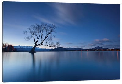 Wanaka Twilight Canvas Art Print