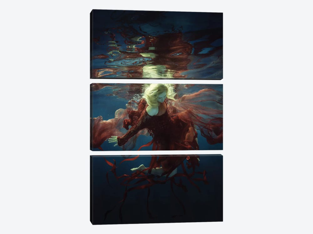 Supernova by Dmitry Laudin 3-piece Canvas Print