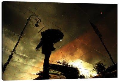 Coloured Rain Canvas Art Print
