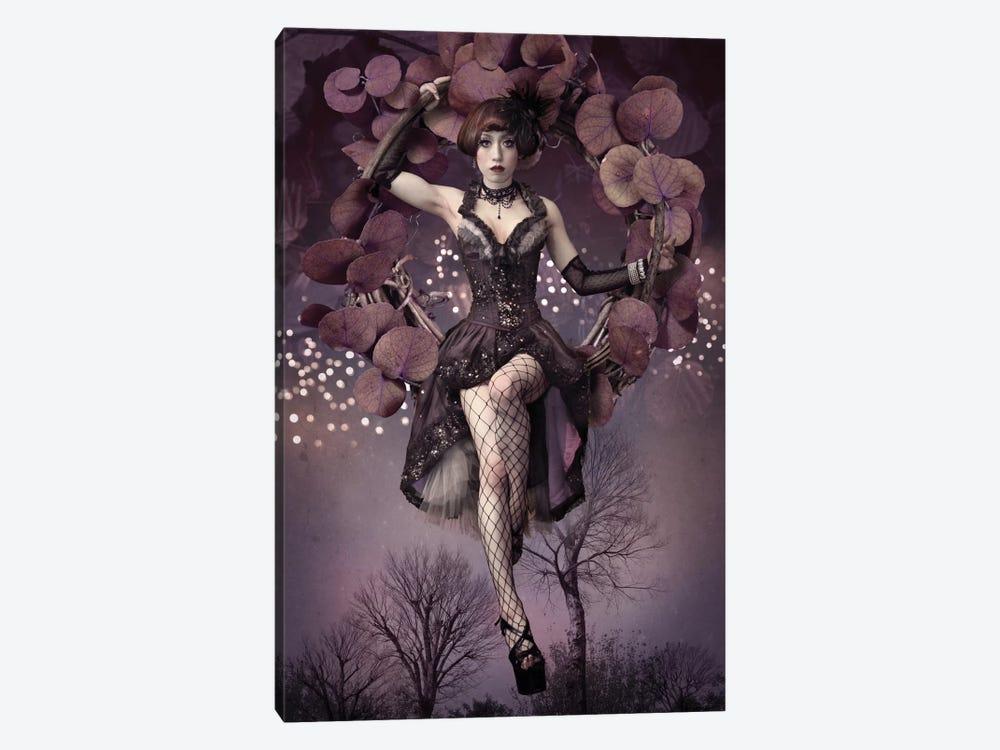 Night Aerial Girl by Kiyo Murakami 1-piece Canvas Wall Art