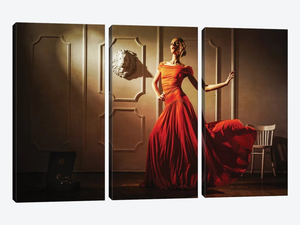 Tango by Sergey Smirnov 3-piece Canvas Wall Art