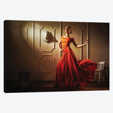 Tango Canvas Print #OXM2435} by Sergey Smirnov Canvas Artwork