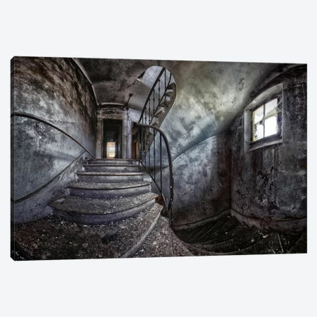 Abandoned House Canvas Print #OXM2451} by Francois Casanova Art Print
