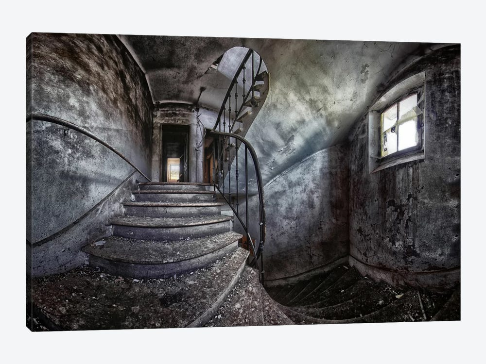Abandoned House 1-piece Canvas Art