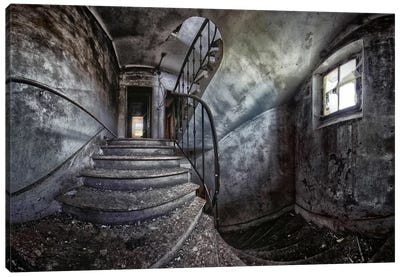 Abandoned House Canvas Art Print