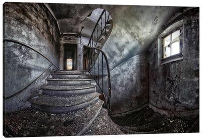 Abandoned House Canvas Art Print