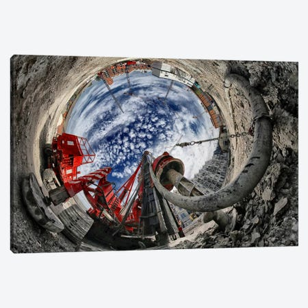 The Hole Canvas Print #OXM2456} by Francois Casanova Canvas Artwork