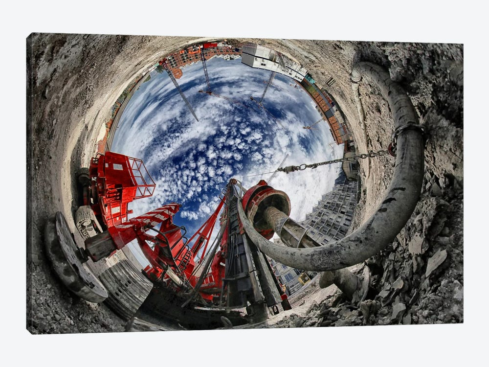 The Hole by Francois Casanova 1-piece Art Print