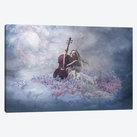 Music Of The Soul Canvas Print #OXM245} by Nataliorion Art Print