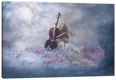 Music Of The Soul Canvas Print #OXM245