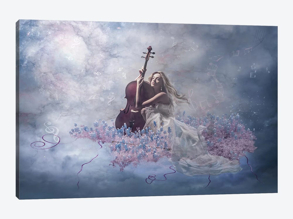 Music Of The Soul by Nataliorion 1-piece Art Print