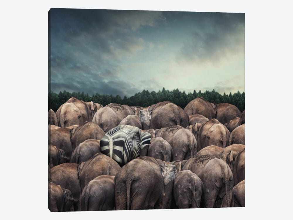 Dare To Be Different by hardibudi 1-piece Art Print