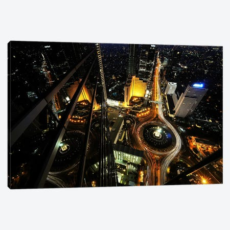 Heart Of The City Canvas Print #OXM2462} by hardibudi Canvas Art