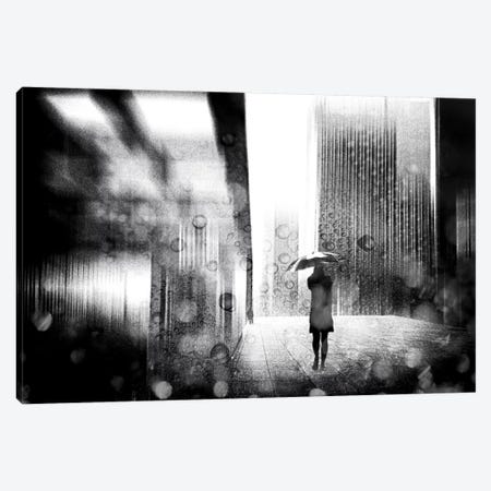A Rainy Day In Berlin Canvas Print #OXM2471} by Stefan Eisele Canvas Print