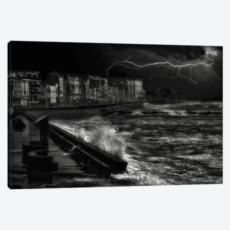 Dark Stormy Evening In Normandy Canvas Print #OXM2486} by Yvette Depaepe Canvas Print