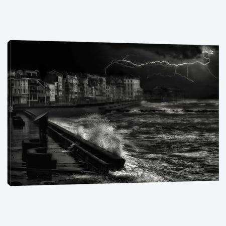 Dark Stormy Evening In Normandy Canvas Print #OXM2486} by Yvette Depaepe Canvas Print
