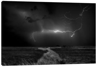 Sometimes The Sky Explodes Canvas Art Print