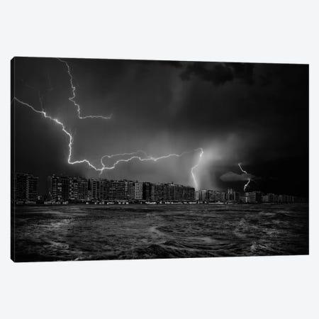 Sometimes, The Sky Screams Canvas Print #OXM2490} by Yvette Depaepe Art Print